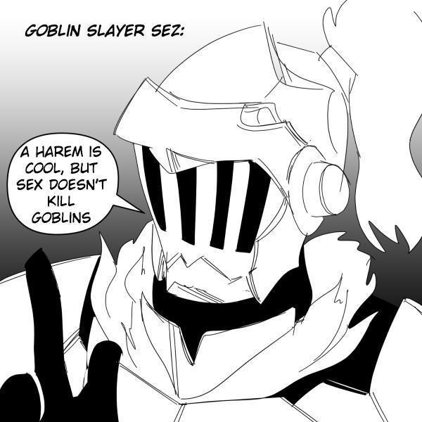 Goblin slayer - meme