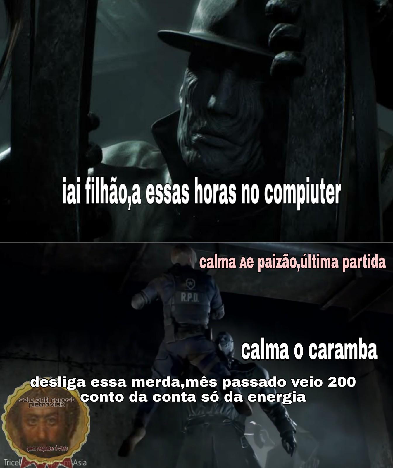Pô paizão - meme