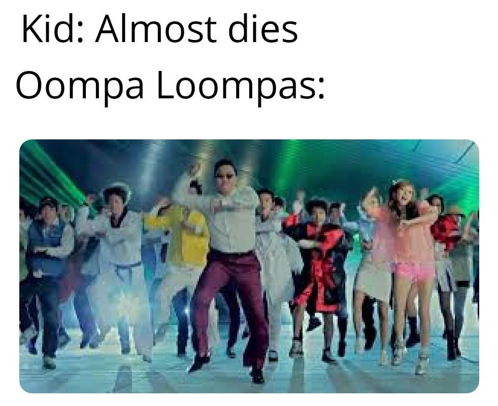 Thats how wonka works - meme