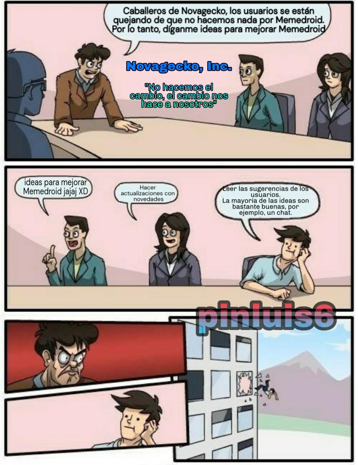 Te queremos, Novagecko - meme