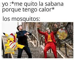 Mosquitos al ataque - meme