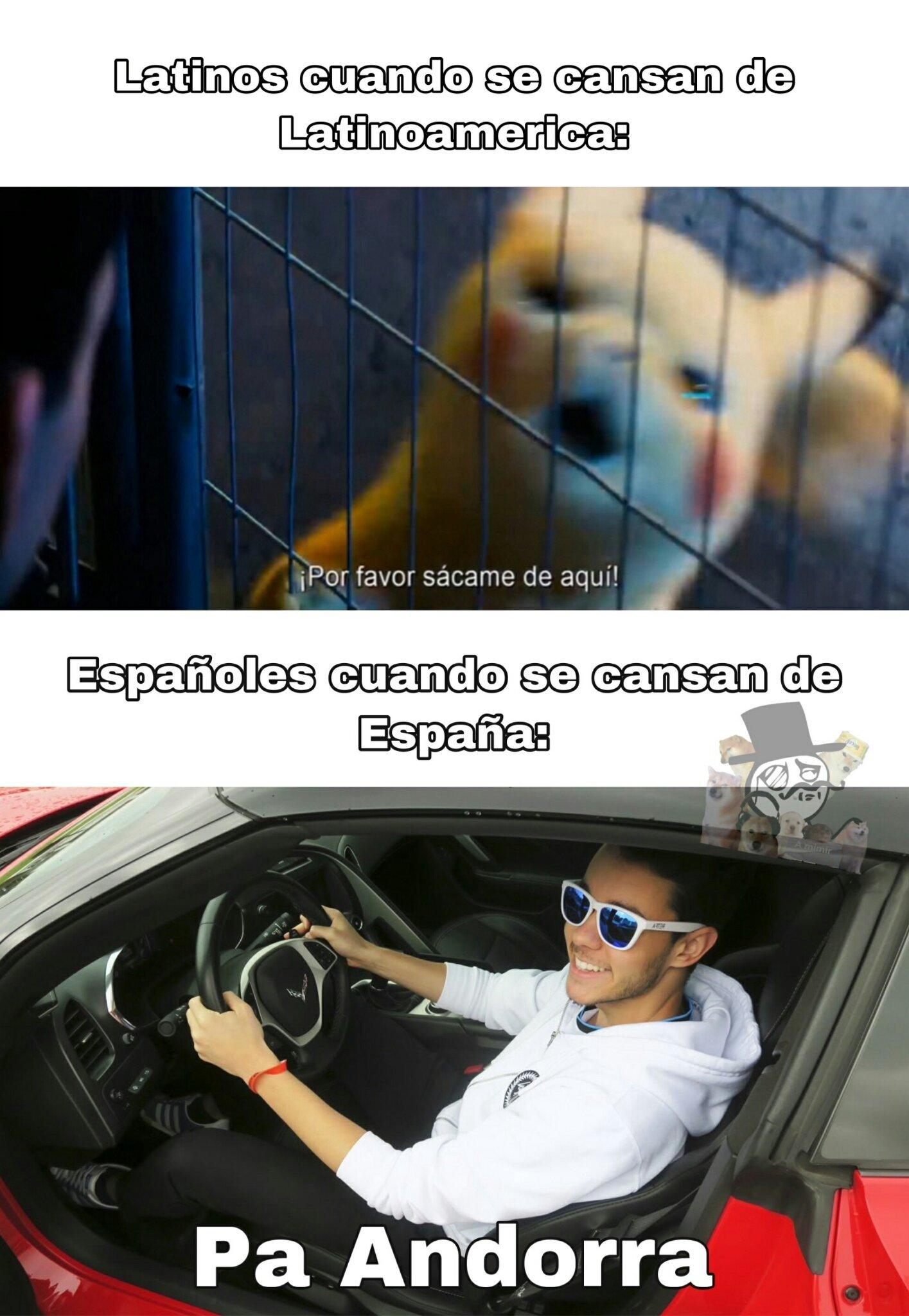 Pa andorra - meme