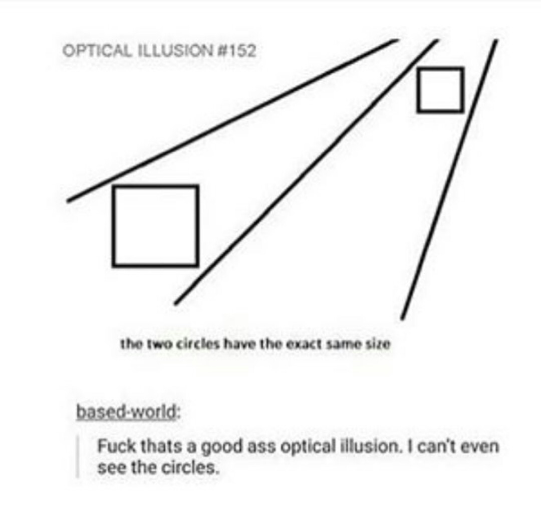 good ass optical illusion - meme