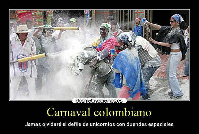 Carnaval colombiano - meme