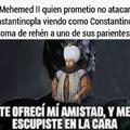 Constantino fue un chad, pero tremenda pendejada que se aventó traicionando a mehemed