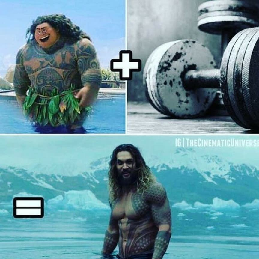 When would Maui actually get a workout - meme