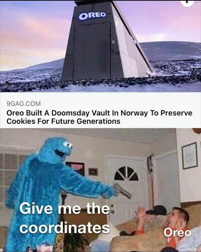 Oreo - meme
