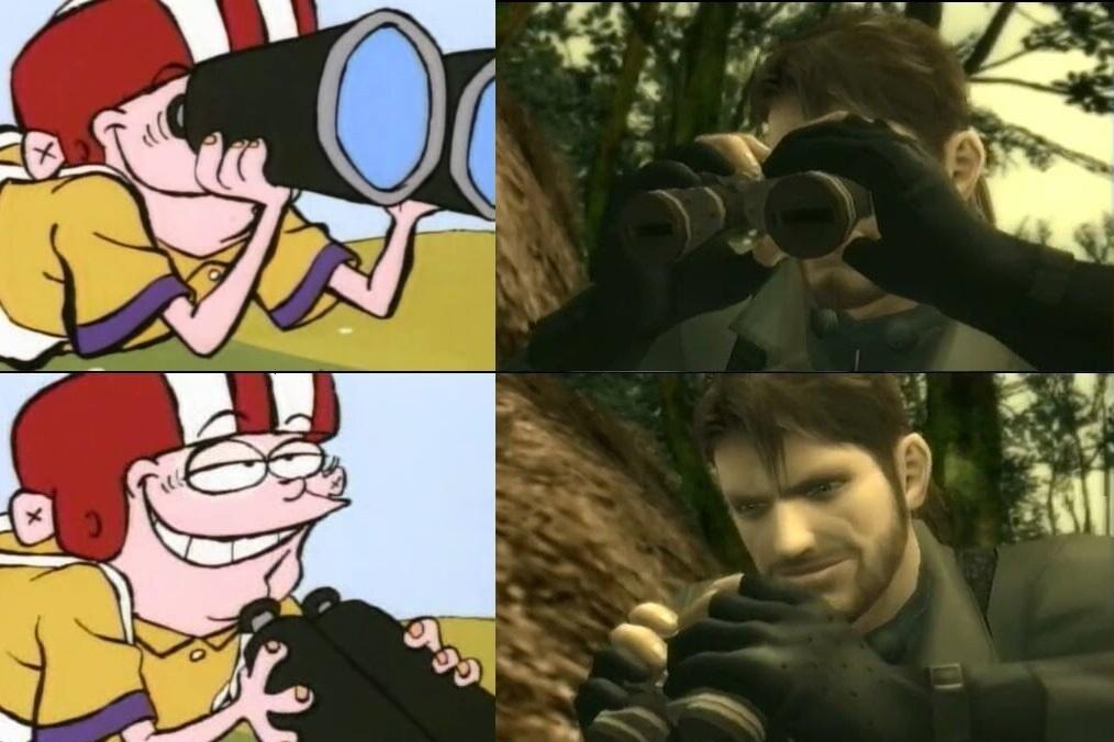 *lo mira* - meme