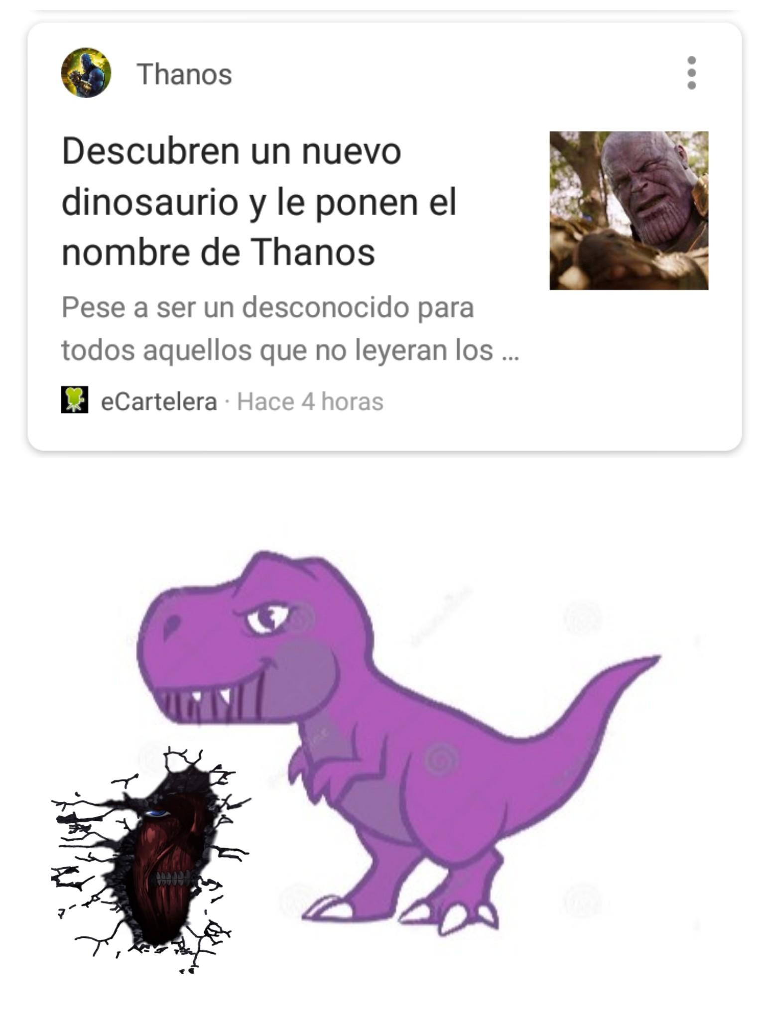 Dinothanos... - meme