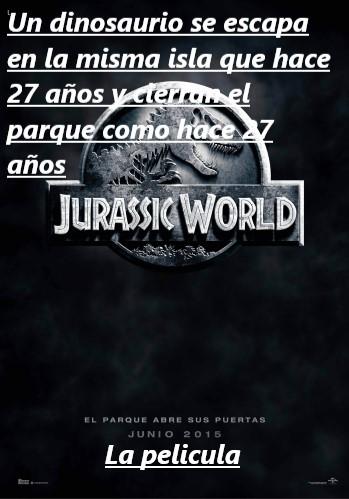 Jurassic World - meme