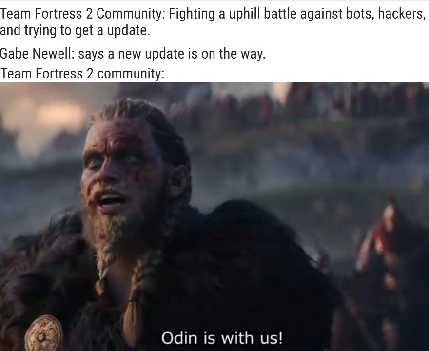 But will he get the bots out? - meme