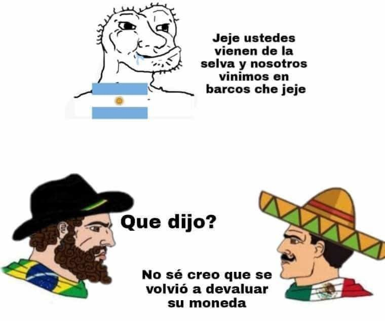 Che que dijiste de argentina pa? - meme