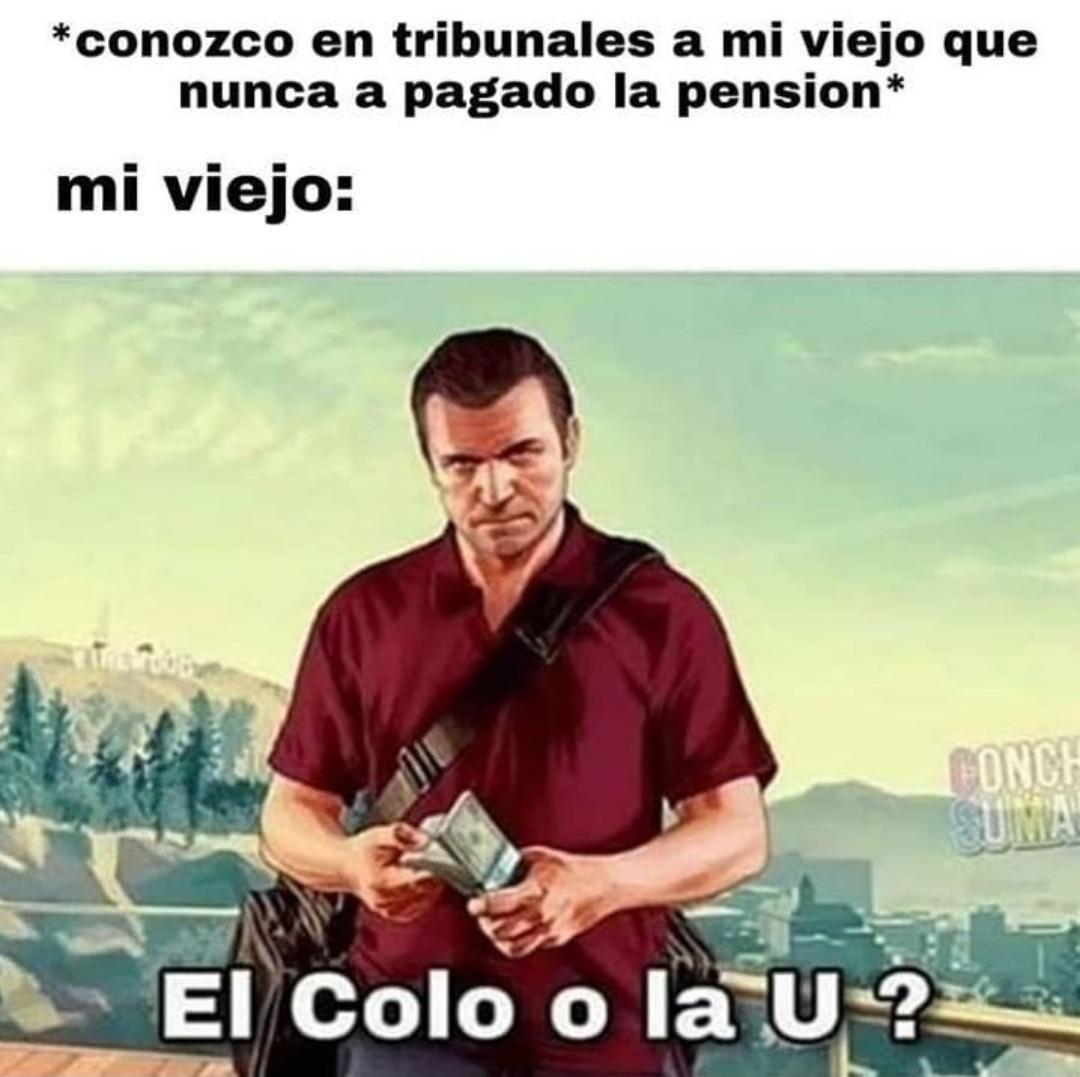 Cristobal Coló coló - meme