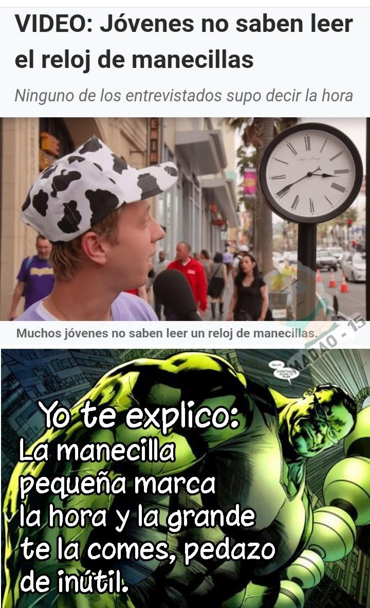 Grande Profesor Hulk! - meme