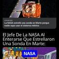 Meme: Como Que La NASA Contrataron A Gente Que No Sabía El Sistema Métrico