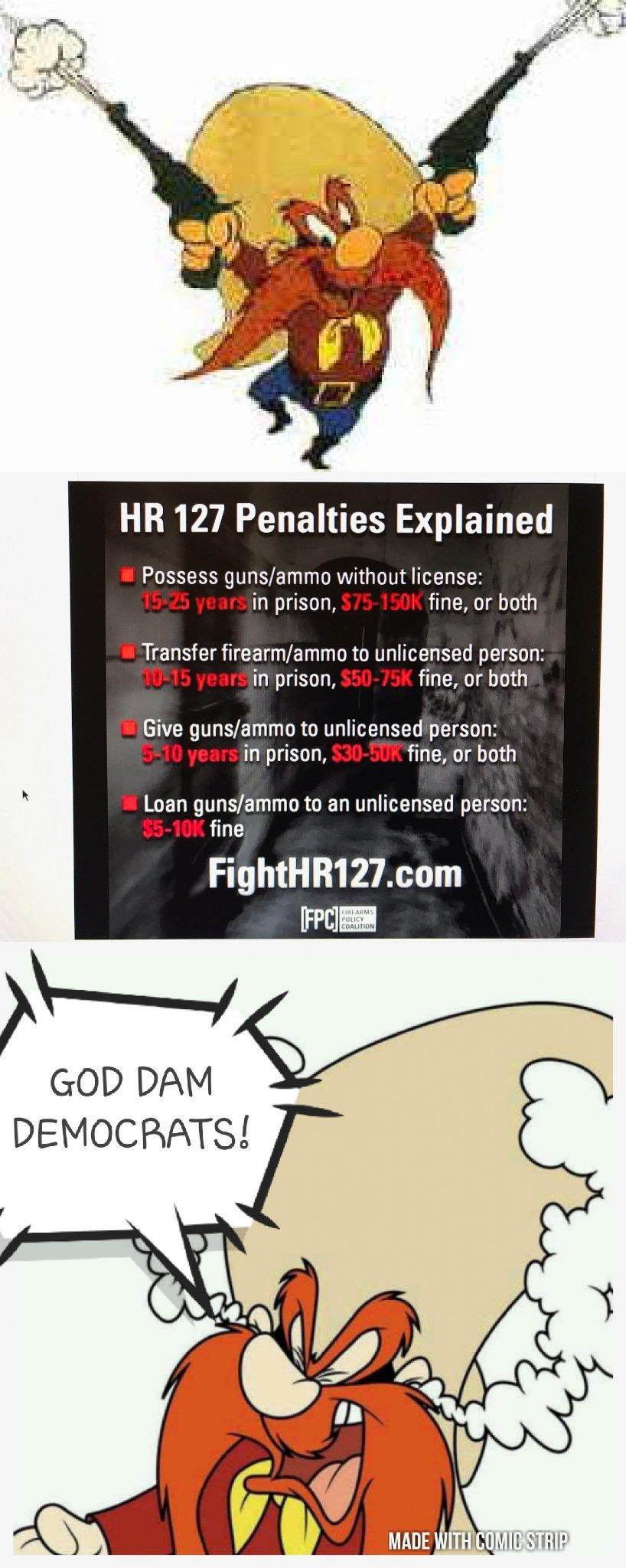 HR 127  Democrat devils - meme