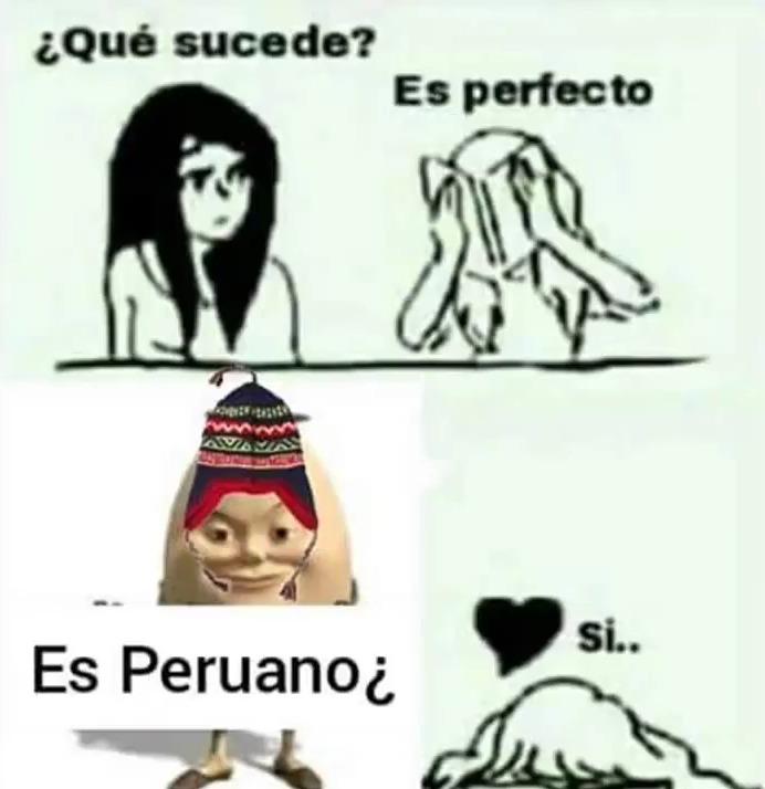 Es peruano - meme