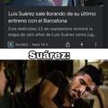 ¿Alguien vió el video de Suárez mordelón? jaja