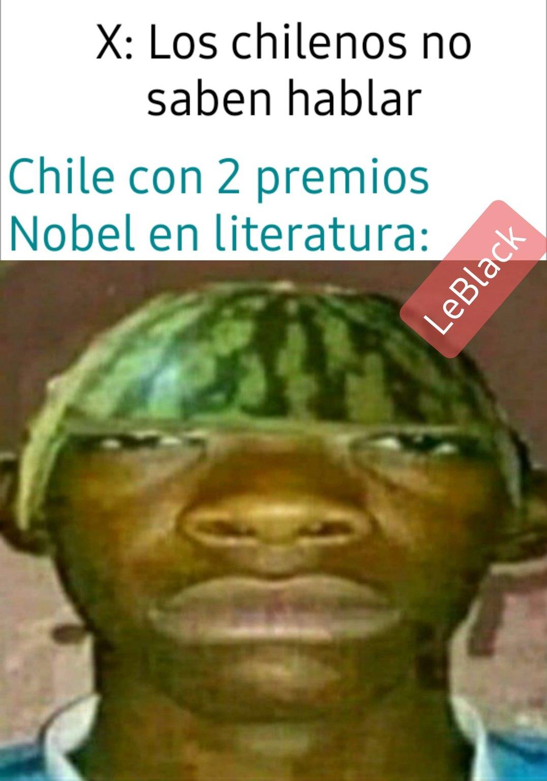 Pablo Neruda y Gabriela Mistral - meme