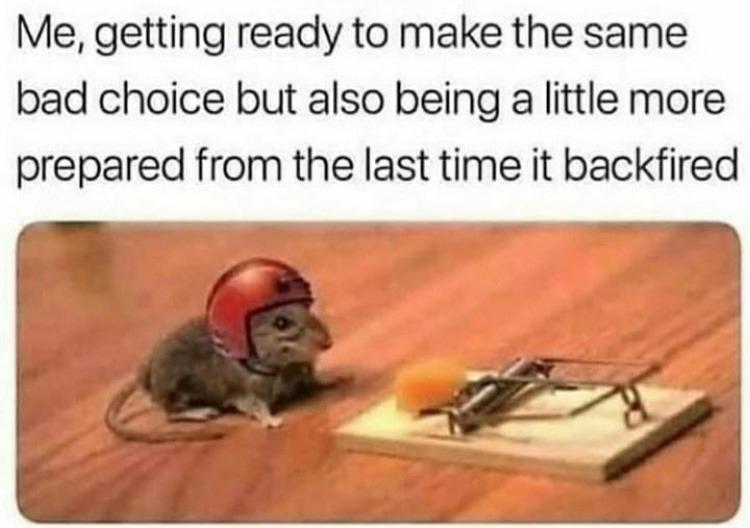 mouse is ready - meme