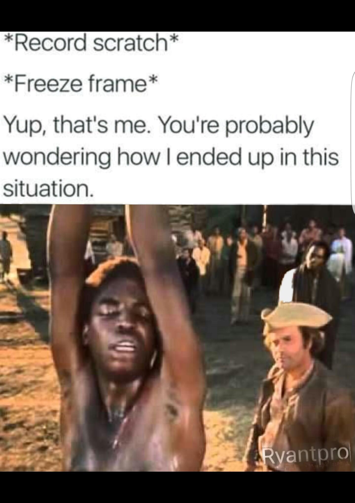 How i got here - meme