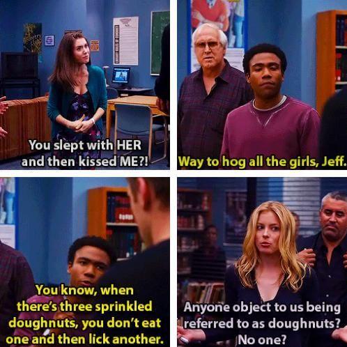 Love doughnuts - meme