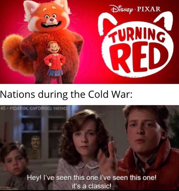 she turns into a furry? - meme