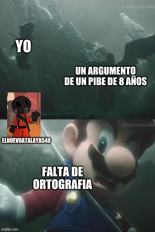 Ahora es el momento de contraatacar,Mario! - meme