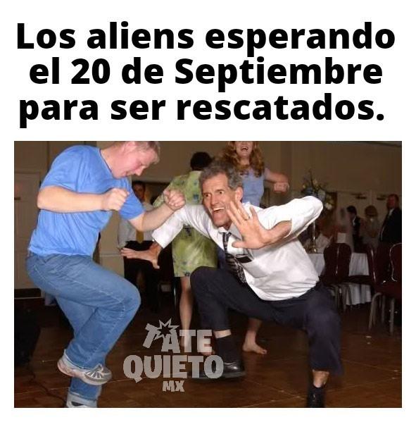 Extraterrestres - meme