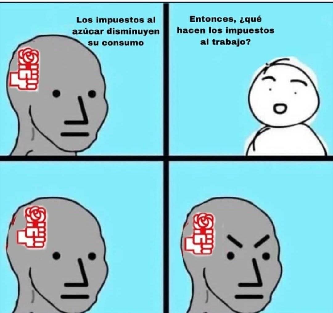El de la Rosita es el Partido Socialista Obrero Español (PSOE) - meme