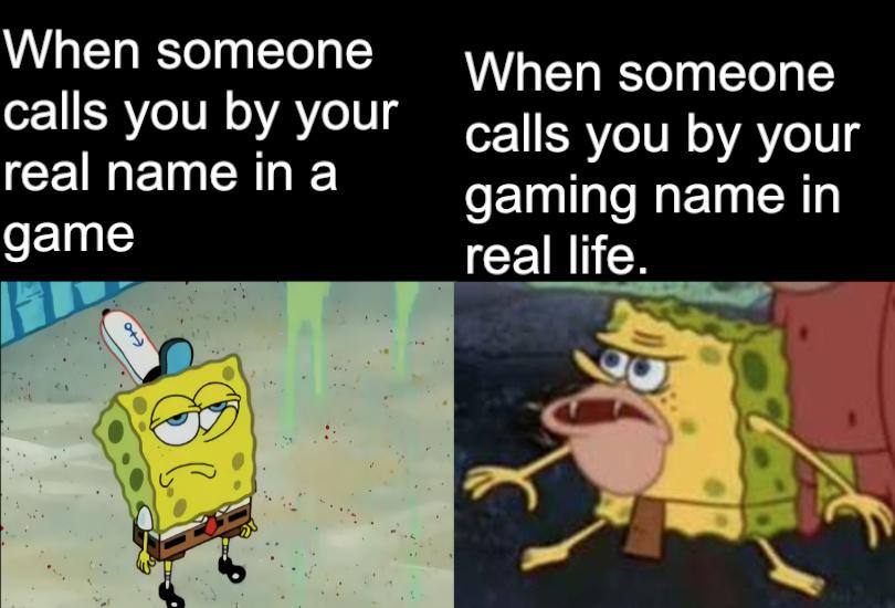gamer life - meme