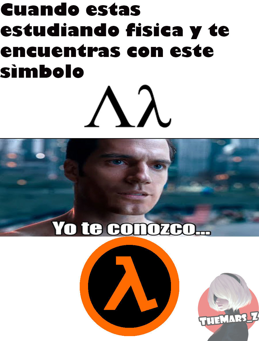 lambda (ondas) - meme