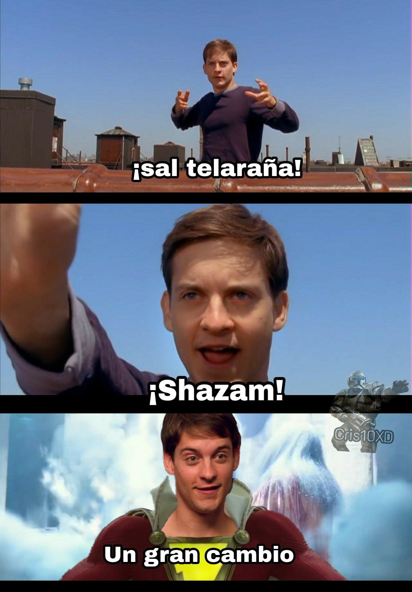 El hombre araña :) - meme