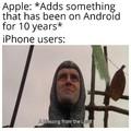 Apple trash