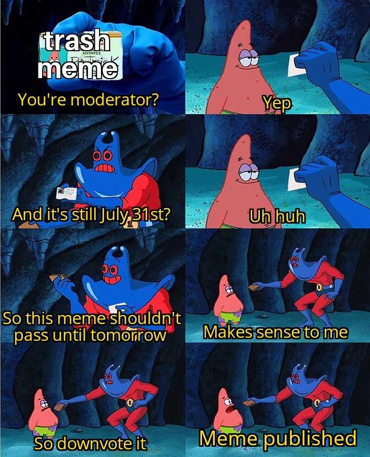 July 31st - meme