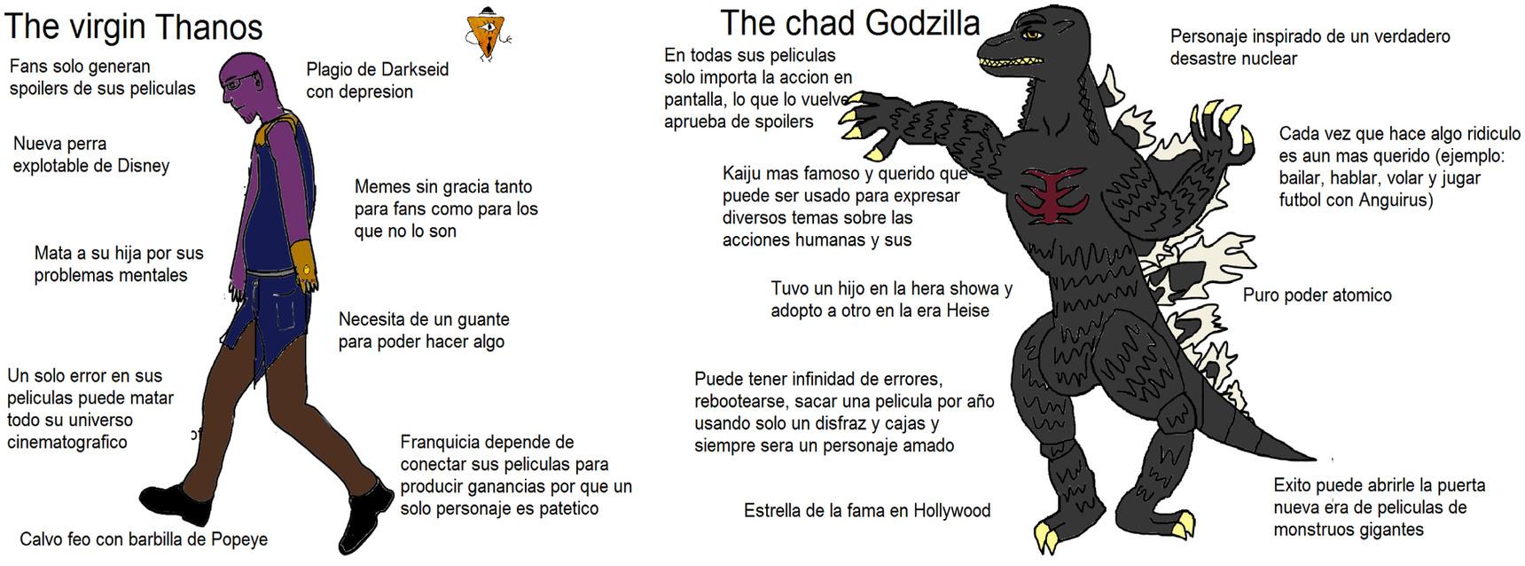 Godzilla lo hace desde los 60's - meme