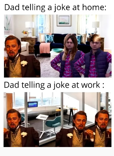 Dad jokes - meme