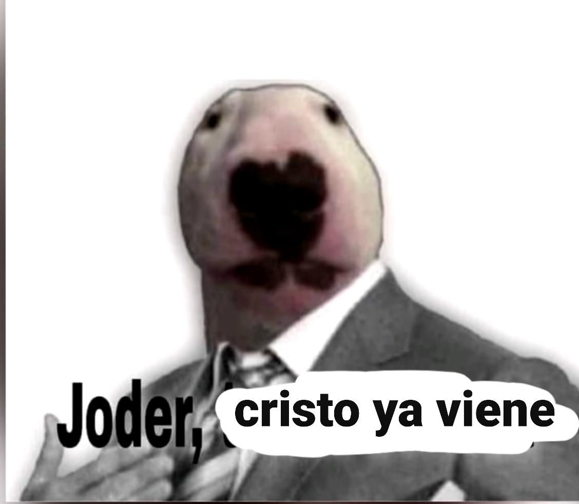Joder cristo ya viene - meme