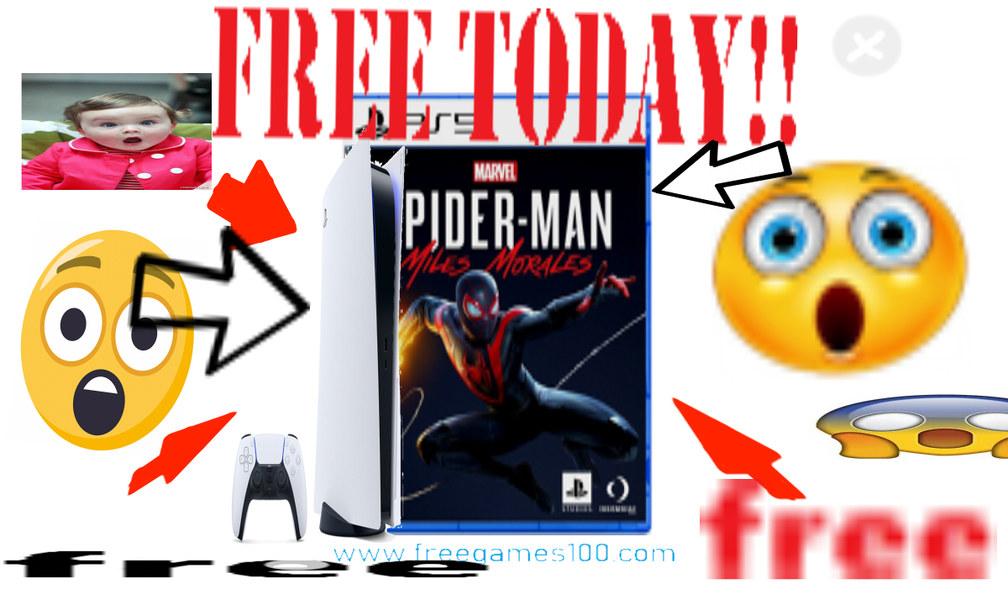 Gratis solo hoy play5+juego!! - meme