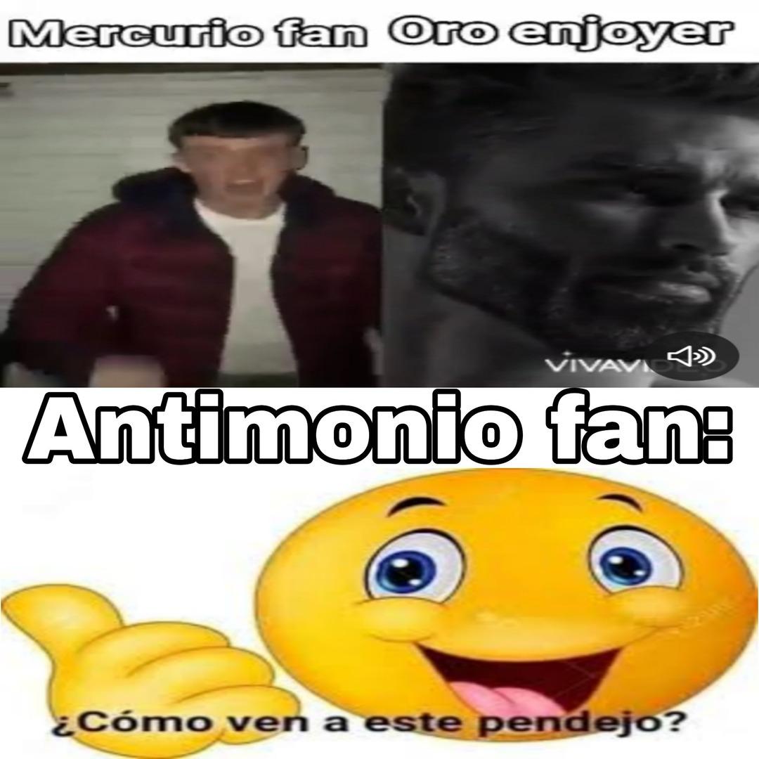 Soy team antimonio - meme