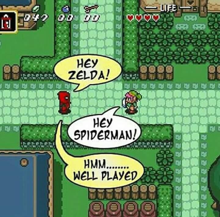 How's the new Zelda game? - meme