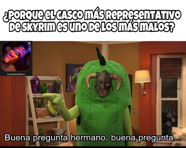 Perdí mi perfil de Skyrim de nivel 76 alv - meme