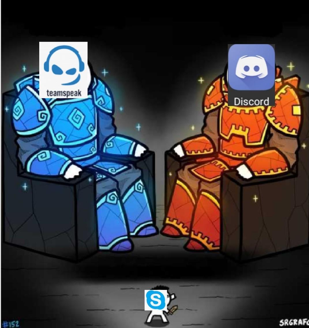 Pobre skype... - meme