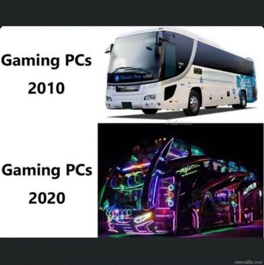 Gaming PCs - meme