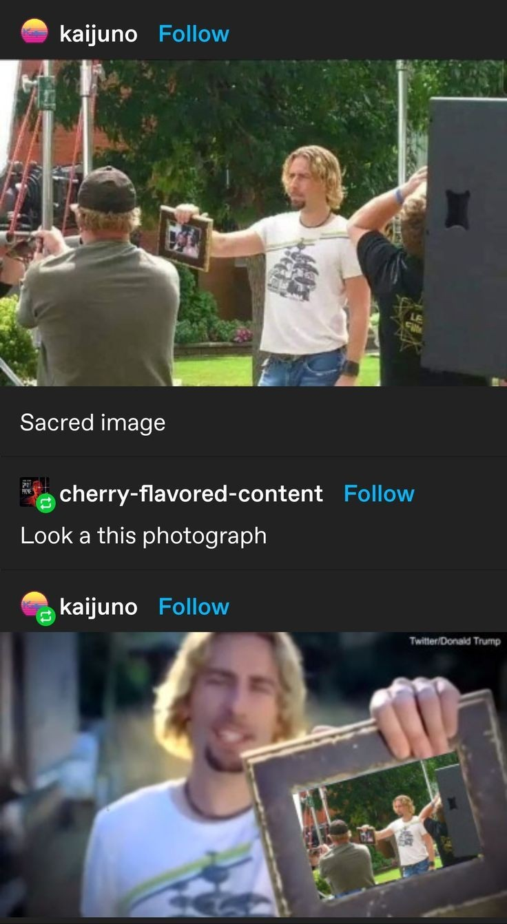 Look at this photograph - meme