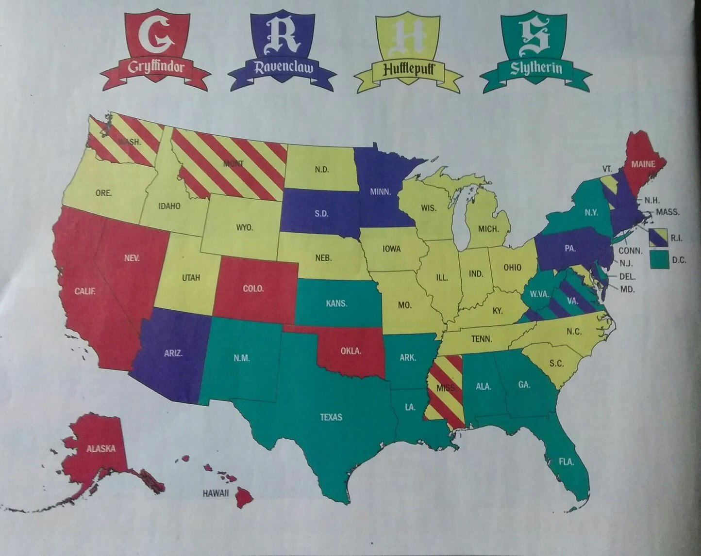 Time's best use of time, which state is your HP house? - meme