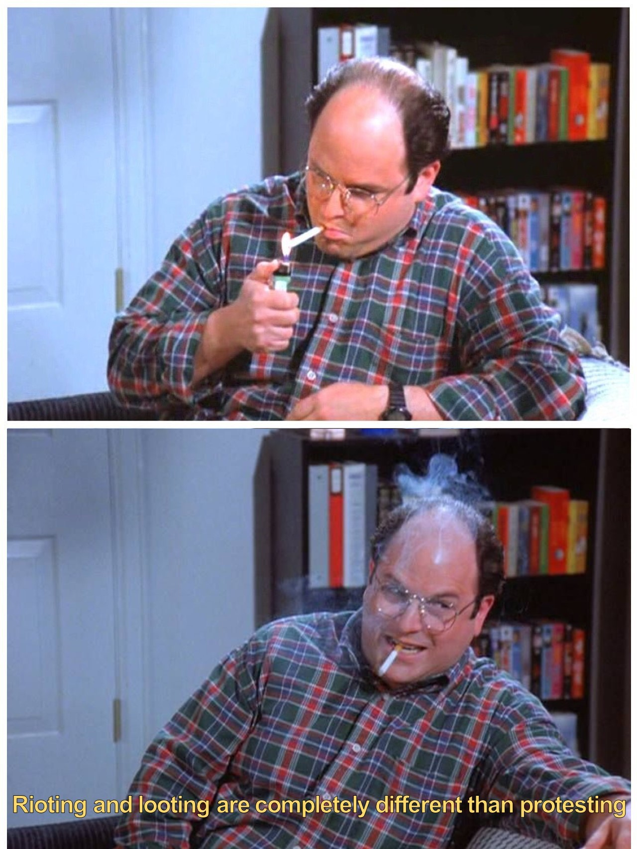 Costanza Knows the Difference.....Why Doesn't the Mainstream Media? - meme