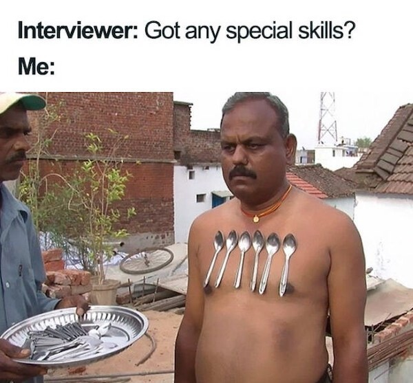Talented Man - meme