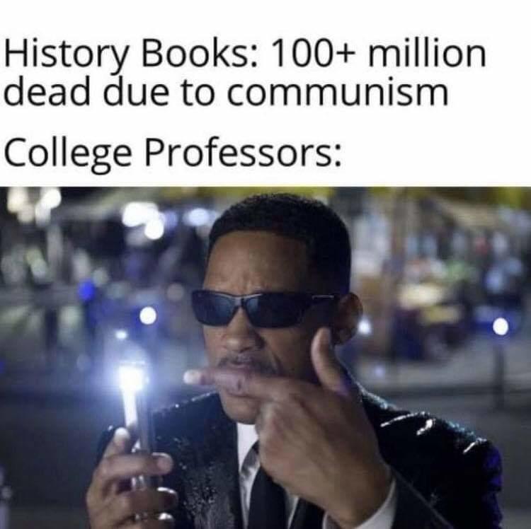 College Professors - meme