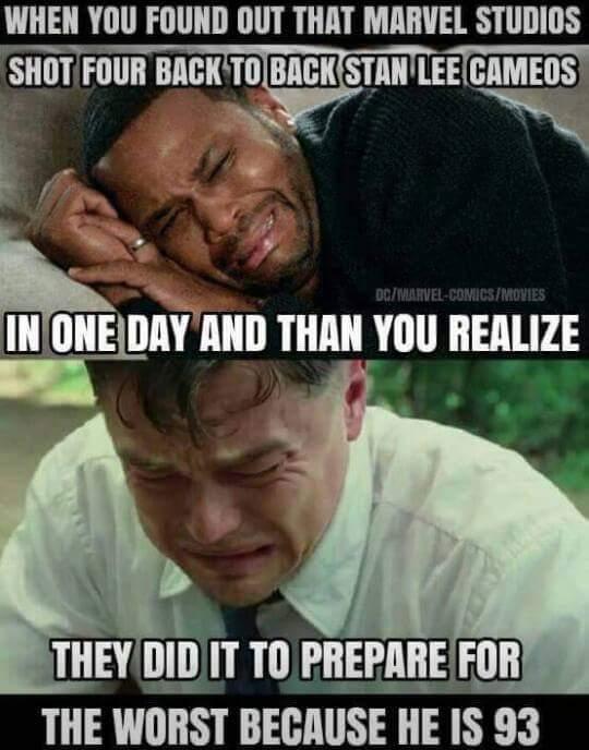 It will be a tragic day. - meme